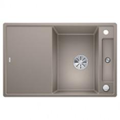 Évier de cuisine Axia III 45S - Tartufo - sous-meuble 45 cm - L 780 x l 510 x P 185 mm + planche en verre - Blanco