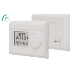 Thermostat onde radio programmable digital - Thermador