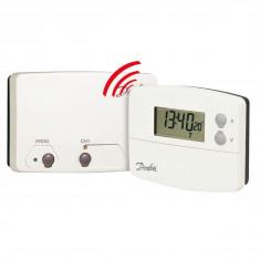 Thermostat d'ambiance programmable sans fil TP5001 RF + récepteur - Danfoss 087N791401