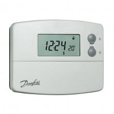 Thermostat d'ambiance programmable TP5001 à piles - sonde intégreé - Danfoss 087N791001