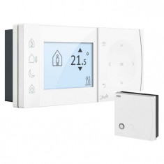 Thermostat filaire digital programmable TPOne-S avec commande smartphone - Danfoss