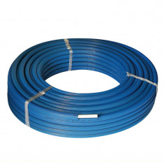 25M Tube multicouche isolé bleu - Ø26x3,0 - Alu 0,5mm - Henco