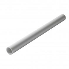 Tube PVC blanc NF diamètre 50 mm - 1 mètre - Nicoll