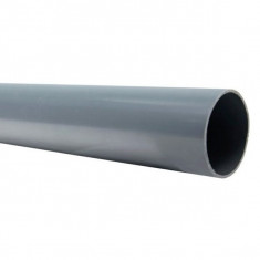 Tube PVC évacuation NF-Me - diamètre 80 mm - 1m ou 2m ou 4m