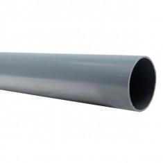 Tube PVC évacuation NF-Me - diamètre 125 mm - 1m ou 2m ou 4m