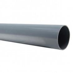 Tube PVC évacuation NF-Me bout lisse - diamètre 100 mm - 1 mètre