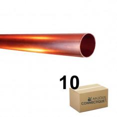 Lot de 10 Tubes cuivre écroui Ø12 - barre de 4m