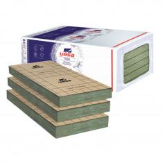 Un paquet de 8 Panneaux laine de verre URSA PRK 38 TERRA revêtu kraft - Ep.100mm - 6,48m² - R 2,65
