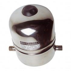 Vase d'expansion 8L VEXBAL inox pour chauffe-eau