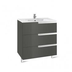 Meuble Unik VICTORIA-N Family 800 3 tiroirs et lavabo