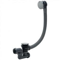 Vidage Baignoire à cable finition en métal 1000 mm - Wirquin Pro 30720380
