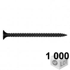 1000 Vis plaque de plâtre empreinte TORX Ø3,5mm Disponible en 3 longueurs