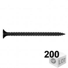 200 Vis plaque de plâtre empreinte TORX Ø3,5mm Disponible en 3 longueurs