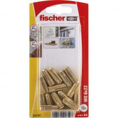 15 Chevilles en laiton fischer MS Ø6 x 22 K - Fischer