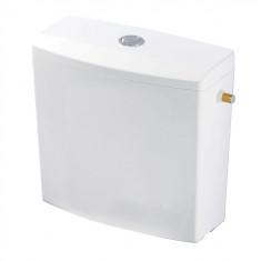 Réservoir Isolé 380x368x160 double touche semi-bas blanc - WIRQUIN