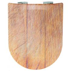 Abattant WC Pralognan Mat - descente manuelle et déclipsable - Olfa