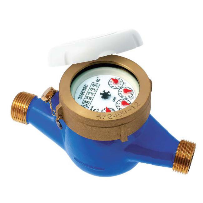 Compteur 1 re prise eau froide jets multiples pn16 - Compteur eau froide ...