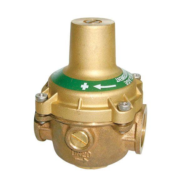 DN20 Vanne de réduction Manomètre  Réducteur réglable de pression d/'eau  laiton