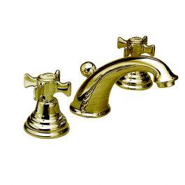 Robinet mélangeur lavabo 3 trous CHAMBORD Vieux bronze - Cristina Ondyna CH11392