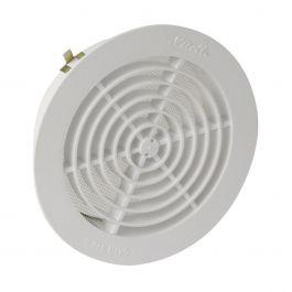 Grille de ventilation ronde avec moustiquaire pour tube Ø140 - Nicoll