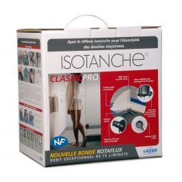 Isotanche Classic Pro grille carrée - Sortie verticale Ø50mm - 1500x1800mm