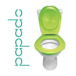 Lunette + Abattant WC Clipsable PAPADO Vert Pomme
