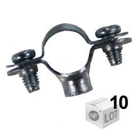 Collier simple 7x150 Ø28 - 10 pièces