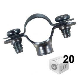 Collier Atlas simple 7x150 Ø18 - 20 pièces