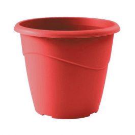 Pot de fleur Marina Ø20x17cm non perçé - 3L - Rouge rubis