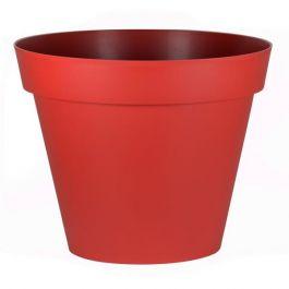 Pot de fleur Toscane Ø100x79,5cm rond - 356L - Rouge rubis