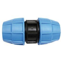 Raccord plastique tube PE Ø25 - Manchon de jonction