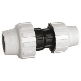 Manchon réduit polypropylène ACS pour Tube PE ou PEHD Ø25-Ø20