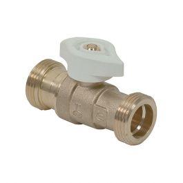 Robinet joint plat gaz MOP 0,5 - mâle G3/4