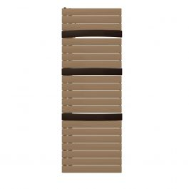 Sèche-serviette eau chaude Arborescence Smart bronze/brown 796W - collecteur à droite