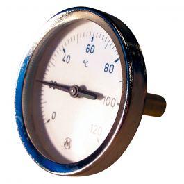 THERMADOR Thermomètre à plongeur 45mm Axial - 0 à 120°C -  Ø100mm