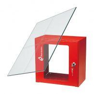 Vitre de rechange 164x210 mm pour coffret sous verre dormant - Thermador