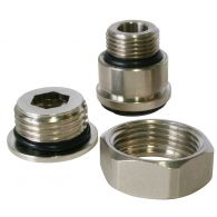 Adaptateur robinet radiateur multidiamètres 3/8