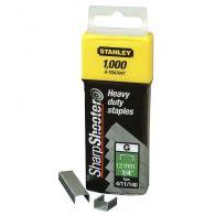 Agrafes 12 mm Type G - Boîte de 5000 pièces - Stanley