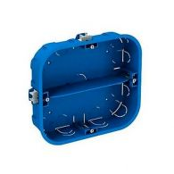 Boîte d'encastrement 6 postes Ø67x40mm - 165x142mm - Schneider ALB71338