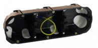 Boîter d'appareillage NO AIR faradisé Triple 71 - Ø 67 X 40 mm