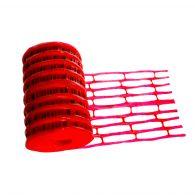 Grillage avertisseur rouge électricité 25mx30cm