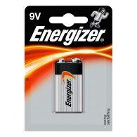 Piles alcaline Energizer 9V - 6LR61 - Blister x1