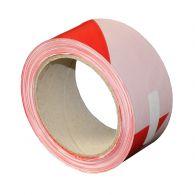Bande de chantier 100m rouge et blanche