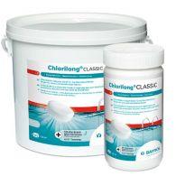 Seau de 5kg de galets Chlorilong Classic pour désinfection chlore piscine - Bayrol