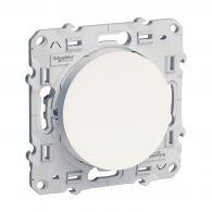 Va-et-vient 10A ODACE Blanc à vis - S520204