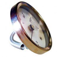 THERMADOR Thermomètre applique à ressort 0 à120°C - Ø63