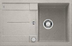 Évier de cuisine Metra 45S - Béton style - sous-meuble 45 cm - 780 x 500 x 190 mm - vidage auto - Blanco