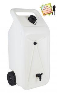 Citerne NOMADE avec récupérateur d'eau 55L - Naturel