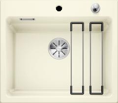 Évier en céramique Etagon 6 - Sous-meuble de 60 cm - Magnolia cristal - 584 x 510 x 200 mm - Vidage Automatique - Blanco