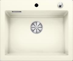 Évier en céramique Palona 6 - Sous-meuble de 60cm - 615 x 510 x 190 mm - Magnolia cristal - Vidage automatique - Blanco